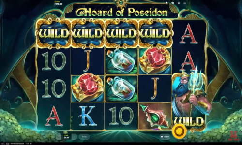Hoard of Poseidon casino slot