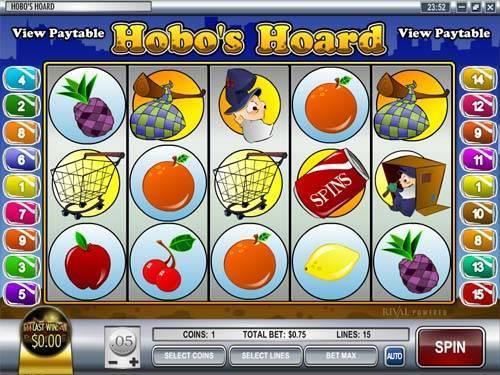 Hobos Hoard free slot
