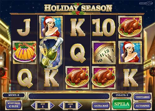 Holiday Season free slot