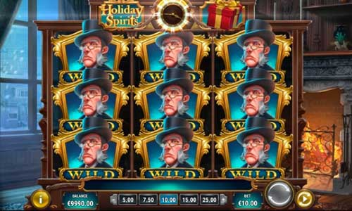 Holiday Spirits free slot