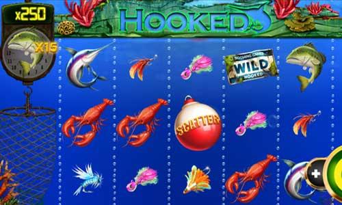 Hooked free slot
