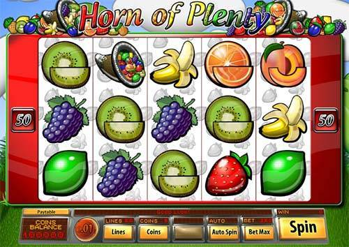 Horn of Plenty free slot