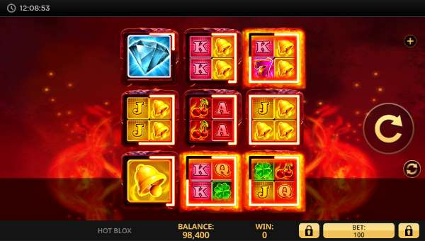 Hot Blox casino slot