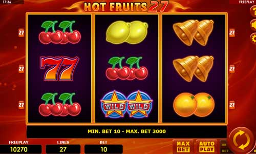 Hot Fruits 27 slot