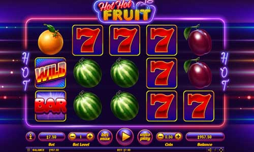Hot Hot Fruit free slot