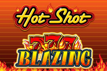 Hot Shot Progressive Blazing 7s free slot