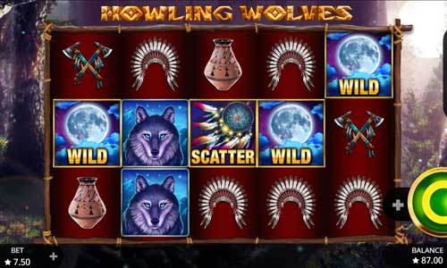 Howling Wolves new slot