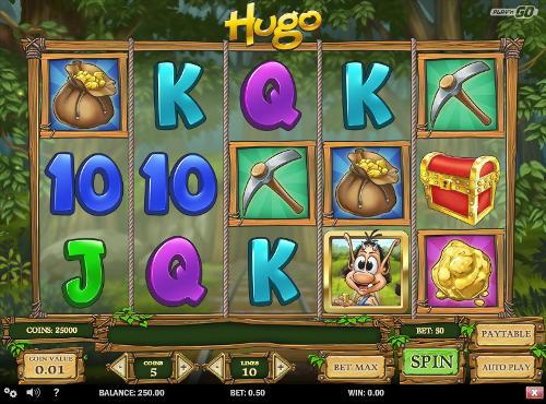 Hugo free slot