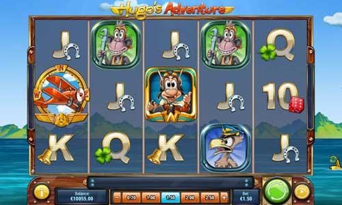 Hugos Adventure free slot