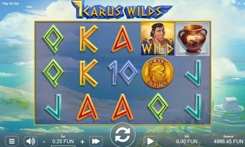 Icarus Wildssticky wilds slot