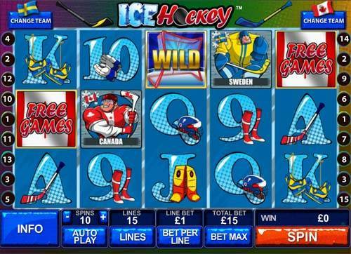 Ice Hockey free slot