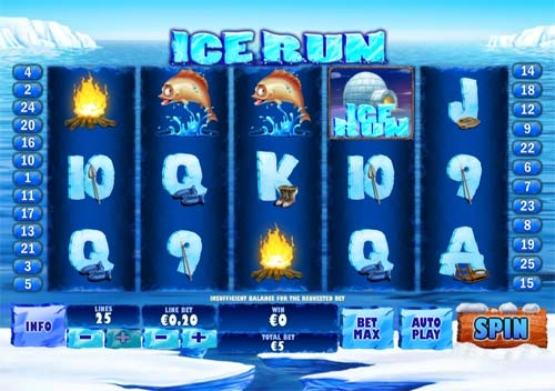 Ice Run casino slot