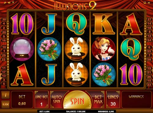 Illusions 2 free slot