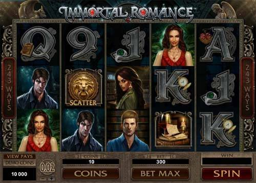 Immortal Romance casino slot
