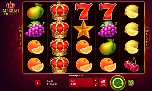 Imperial Fruits 100 Lines free slot