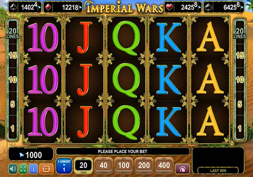 Imperial Wars free slot