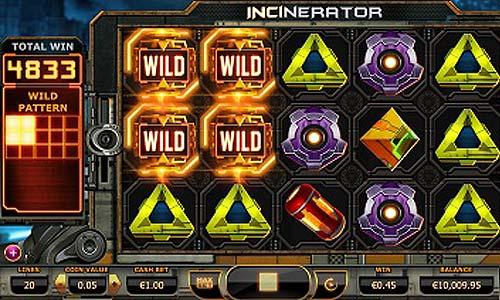 Incinerator free slot