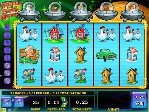 Invaders from the Planet Moolah free slot