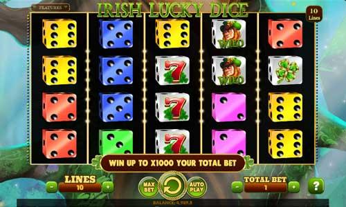 Irish Lucky Dice free slot
