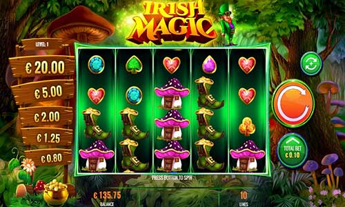 Irish Magicjackpot slot