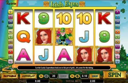 Free play irish eyes slots