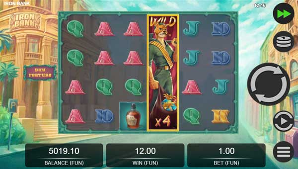 Iron Bank free slot