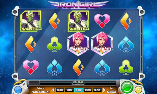 Iron Girl free slot