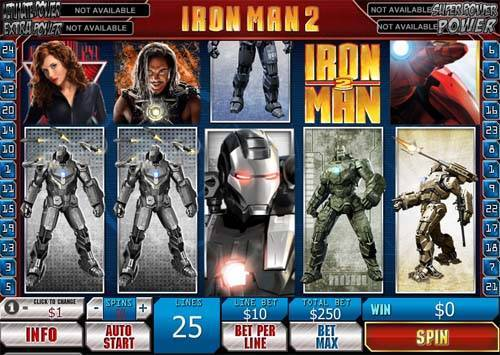 Iron Man 2 free slot