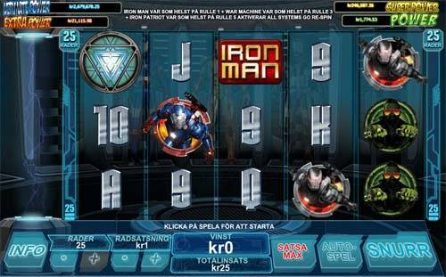 Iron man 3 free slot