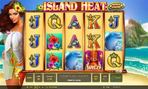 Island Heat free slot