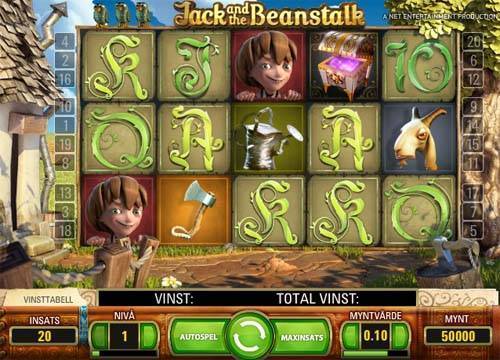 Jack and the Beanstalk free slot