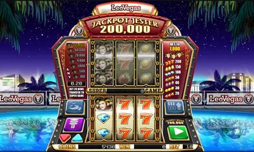 Jackpot Jester 200000 free slot