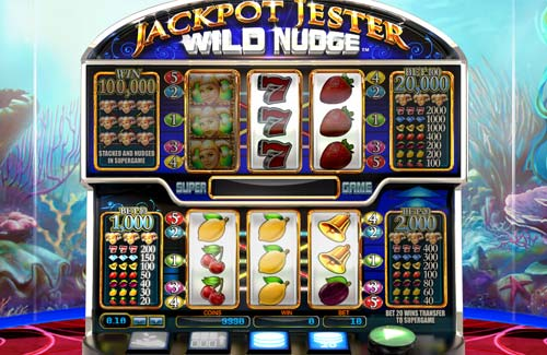 Jackpot Jester Wild Nudge casino slot