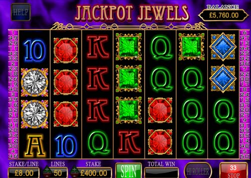 Jackpot Jewels free slot