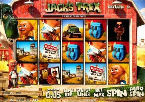 Jacks T-Rex free slot