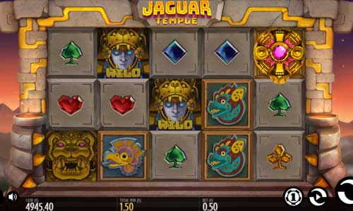 Jaguar Templecolossal symbols slot