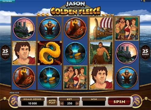 Jason and the Golden Fleece free slot