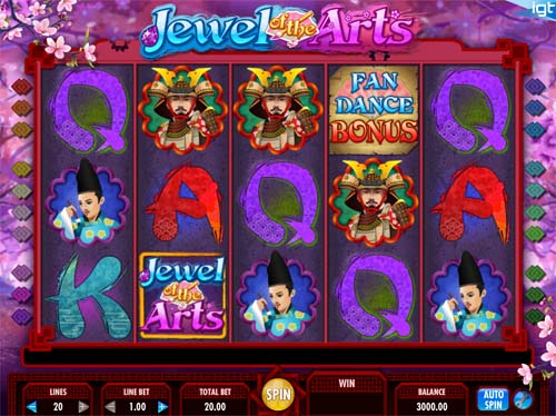 Jewel Of The Arts free slot