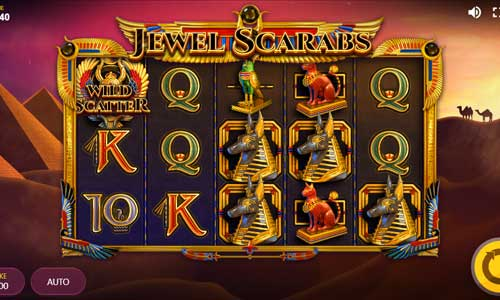 Jewel Scarabs free slot