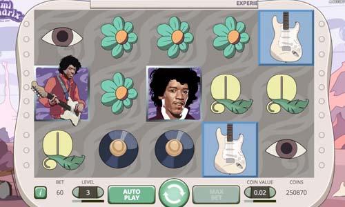 Jimi Hendrix free slot