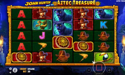 John Hunter and The Aztec Treasure free slot