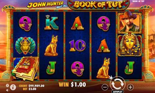 John Hunter and the Book of Tut free slot