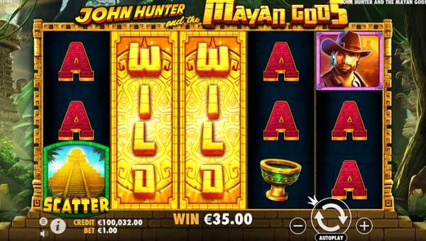 John Hunter and the Mayan Gods free slot