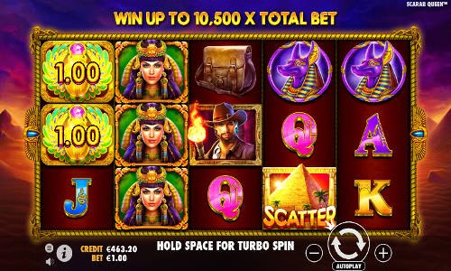John Hunter and the Tomb of the Scarab Queen free slot