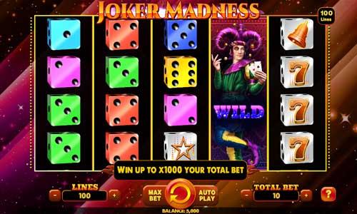 Joker Madness free slot