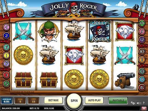 Jolly Roger free slot