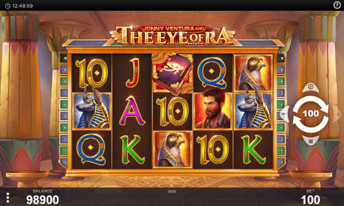 Jonny Ventura and The Eye of Ra free slot