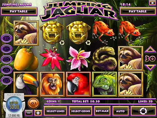 Jumping Jaguar free slot