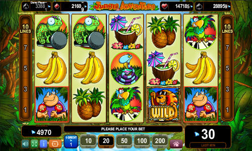 Happy Jungle Slots - Play for Free in Your Web Browser