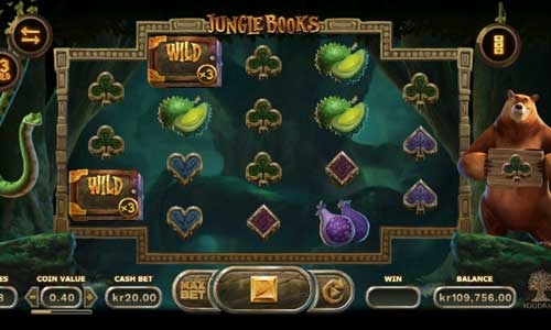 Jungle Books free slot